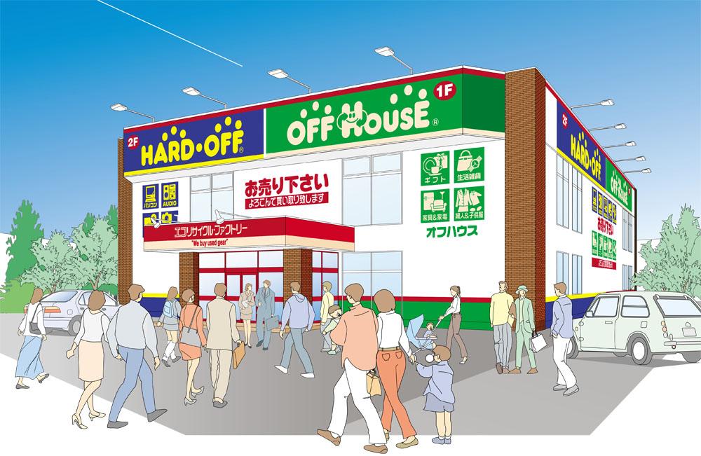 ハードオフ米沢店