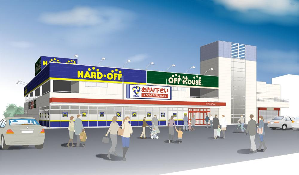 ハードオフ高前バイパス高崎緑店