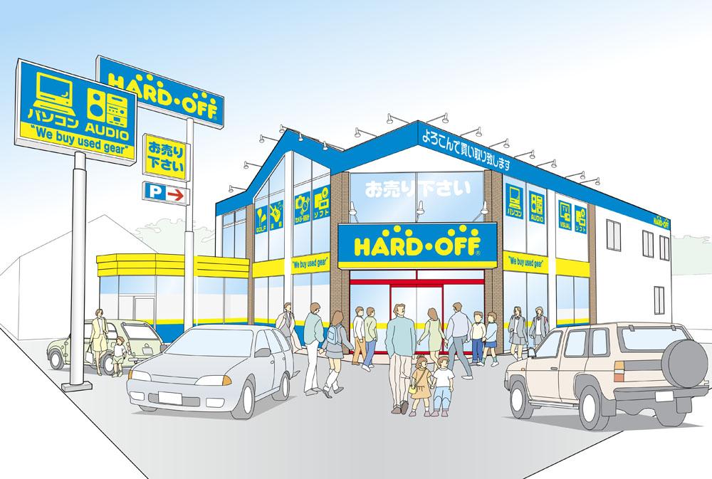 ハードオフ横浜市ヶ尾店