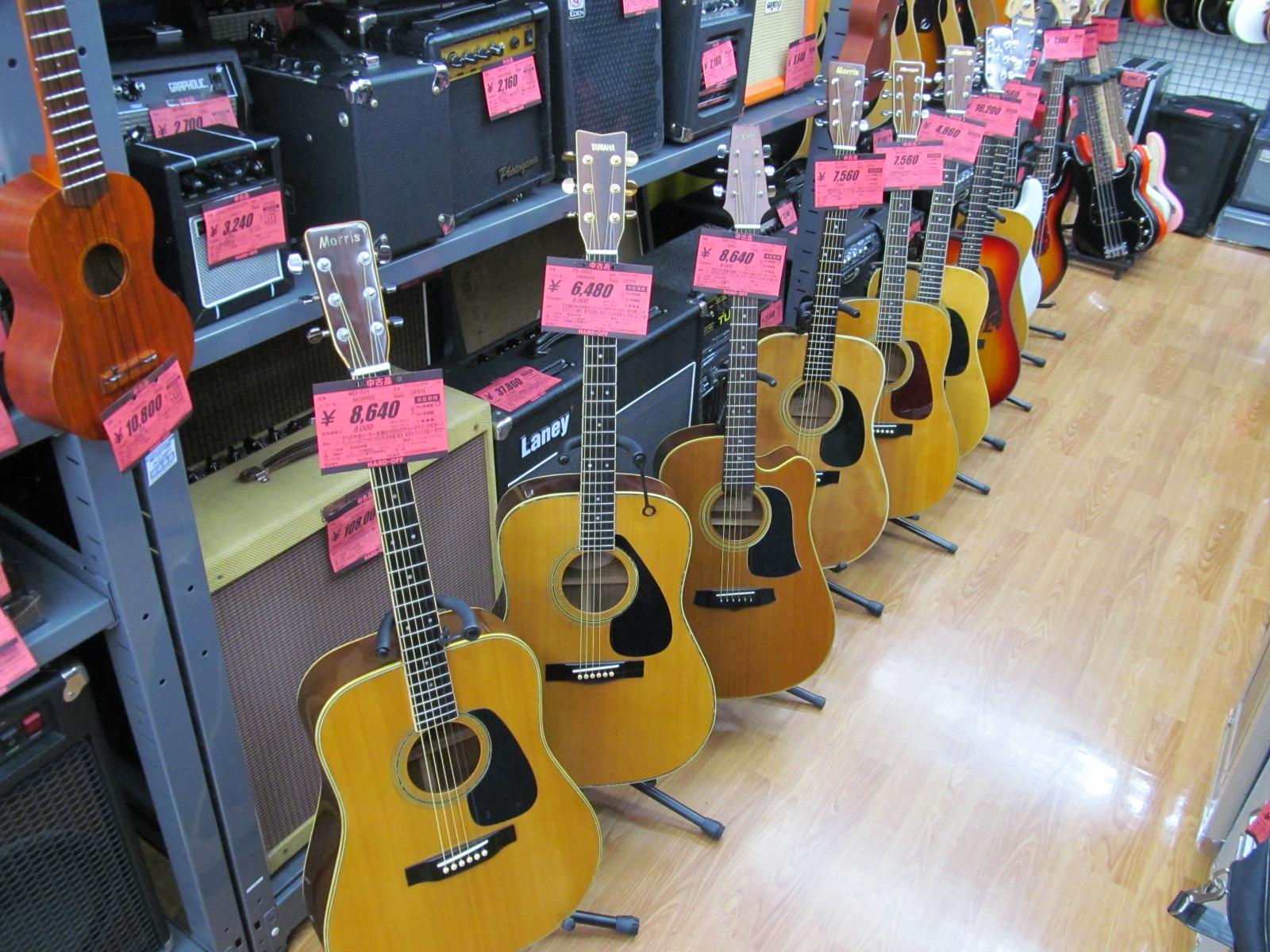 アコースティックギター大量に入荷しました!_[1]