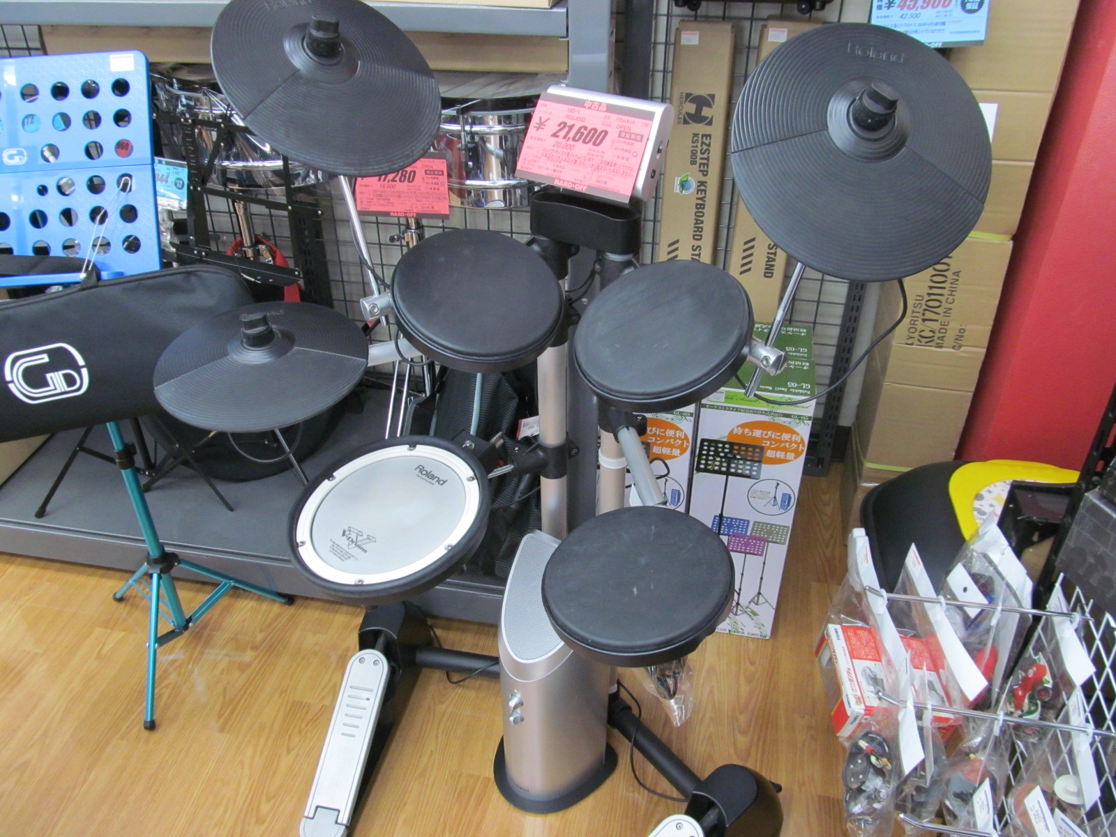 ドラムセットあります!_[2]