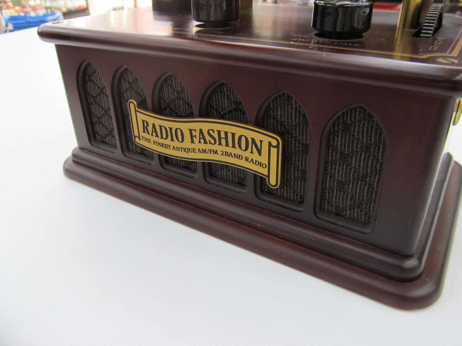 【動画あり】蓄音機風ラジオがありますよ♪_[4]