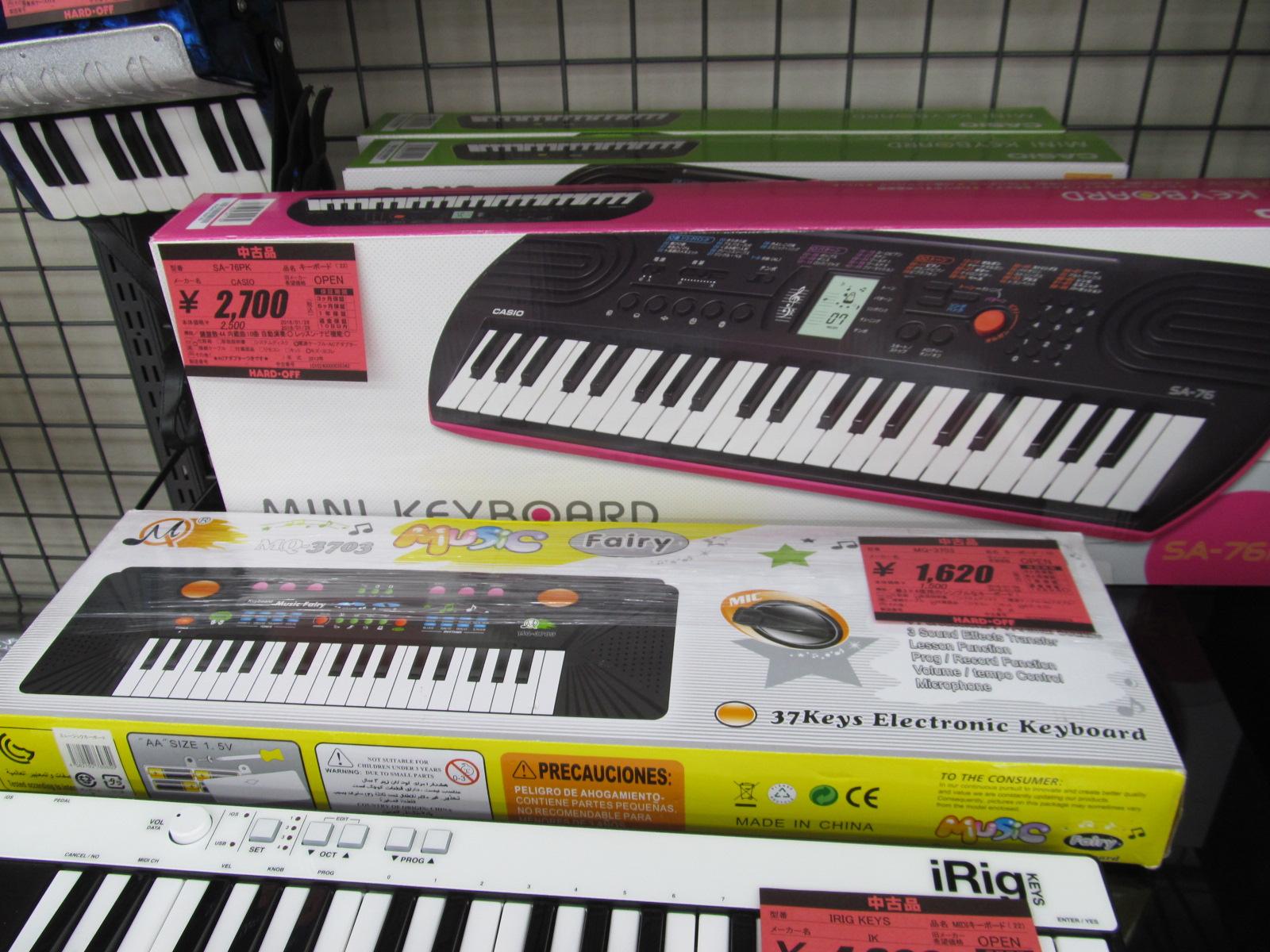 しっかりめの電子ピアノ入荷です!【お手頃価格】_[4]